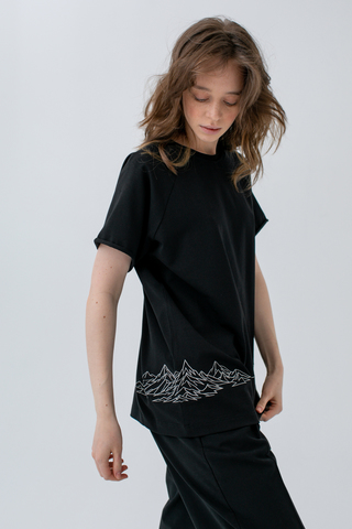MY FOREST INK x DURPEE t-shirt MOUNT