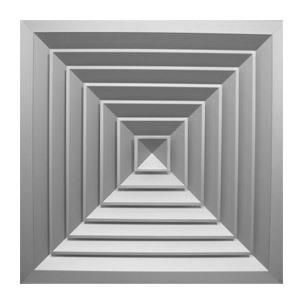 4VA. Решетки диффузорного типа потолочные Пластиковая решетка 600*600мм 4VA 64ba52f1e3328ebc3a28ef204f40df02.jpg