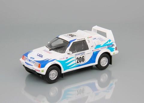 Lada Samara Т3 Rally Paris-Pekin 1995 1:43 DeAgostini Auto Legends USSR Sport #3