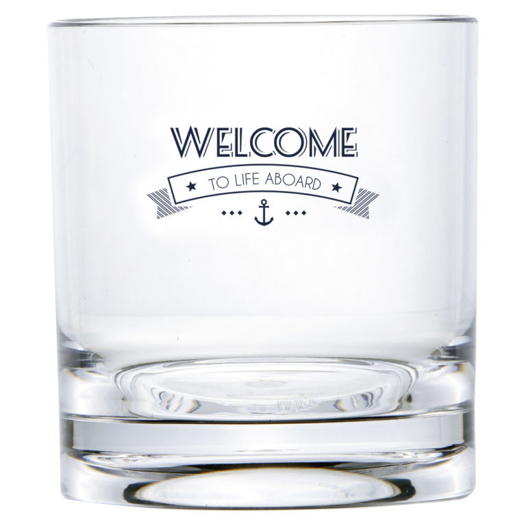 WATER GLASS, PARTY – WELCOME TO LIFE – MS