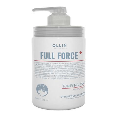OLLIN PROFESSIONAL FULL FORCE Тонизирующая маска с экстрактом пурпурного женьшеня 650 мл