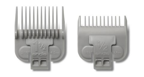 Набор насадок Andis к машинкам US-1, LCL, AAC-1, PM-4 (2,25, 4,5 мм)