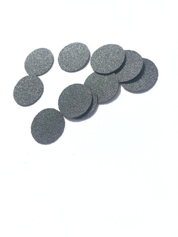 ATIS Файлы для педикюрных дисков 10 мм - 180 грит ЧЁРНЫЕ (50 штук)