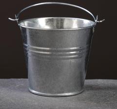 Ведро металлическое, 5,5-6,5 см, 1 шт.