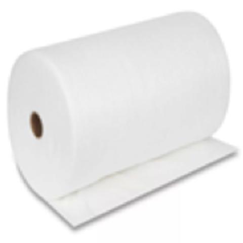 Салфетка в рулоне спанлейс 35*70 белые. 100 шт в упаковке.