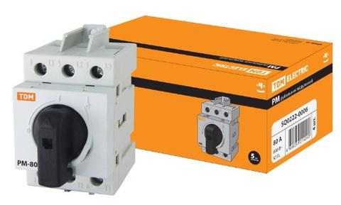 Рубильник модульный РМ-100 3П 100A TDM