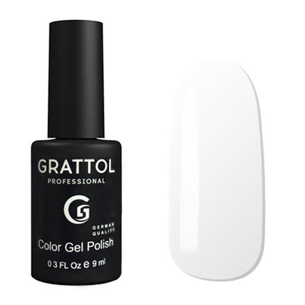 Гель-лак GRATTOL 001 White 9мл
