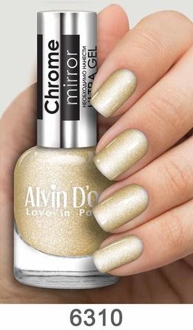 Alvin D`or Лак д/ногтей Chrome mirror тон 6310