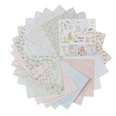 Набор бумаги для скрапбукинга Нежный возраст 24л