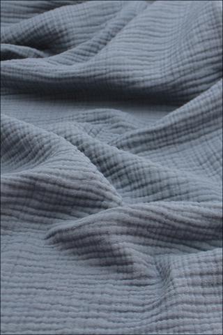 Ткань муслиновая, 4 слоя, Муссон, ширина 240см