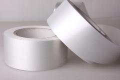 Лента простая (5см*50м) Гладкая без тиснения Белая