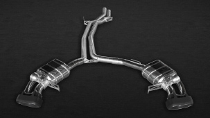 Выхлопная система Capristo для Porsche Macan Turbo