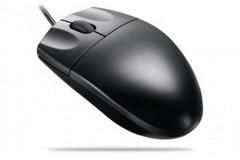 LOGITECH Value Optical Mouse Black PS2