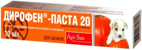 Diropen-Paste anthelmintic for puppies 10 ml