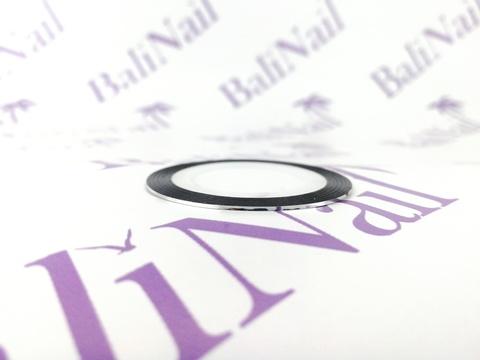 Самоклеящаяся лента для дизайна ногтей (серебро)