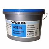 Wakol D 3540 2,5 кг клей контактный для пробки на основе акрилатной дисперсии (без запаха) Вакол-Германия