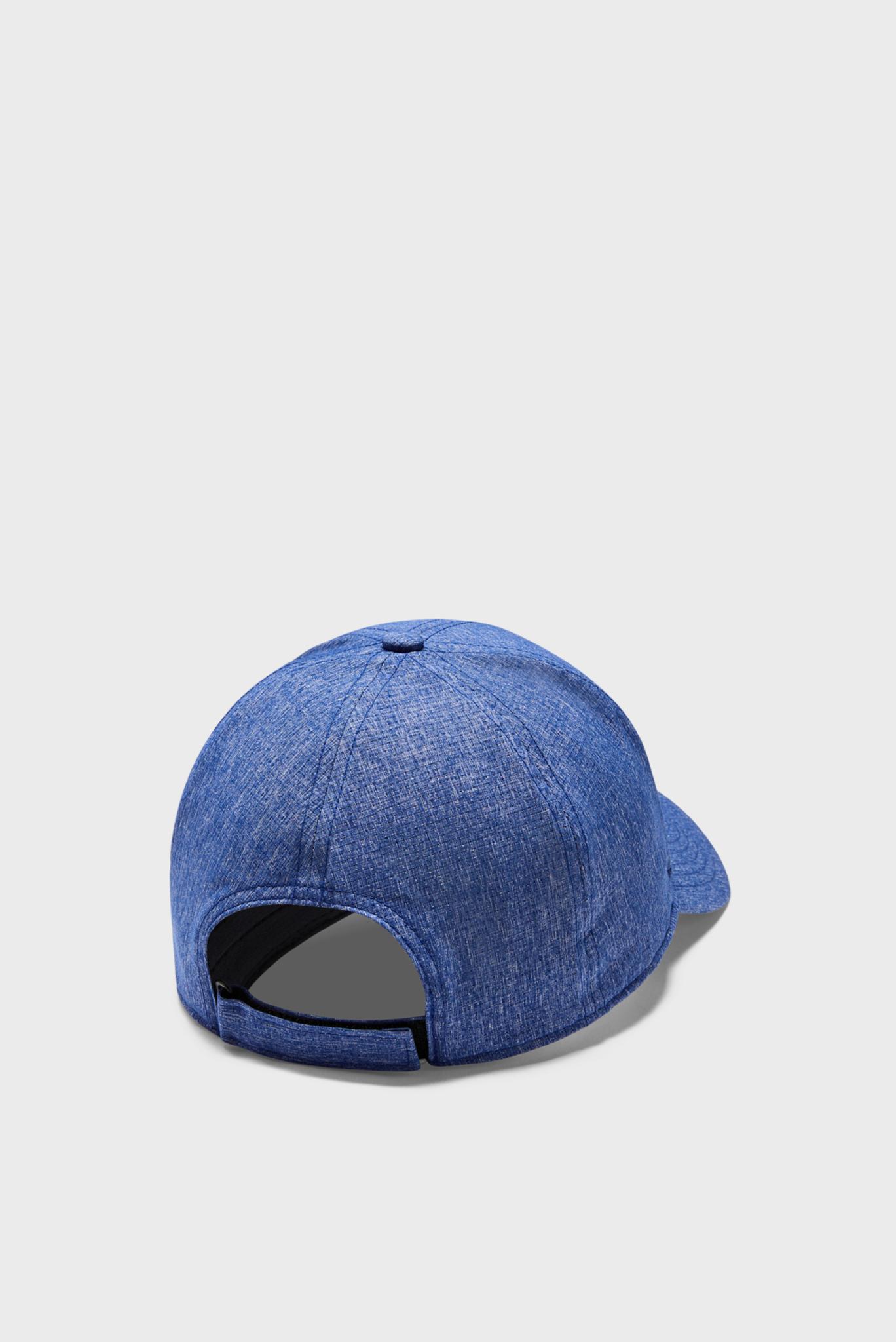 Мужская синяя кепка UA Adjustable Airvent Cool Cap-BLU Under Armour