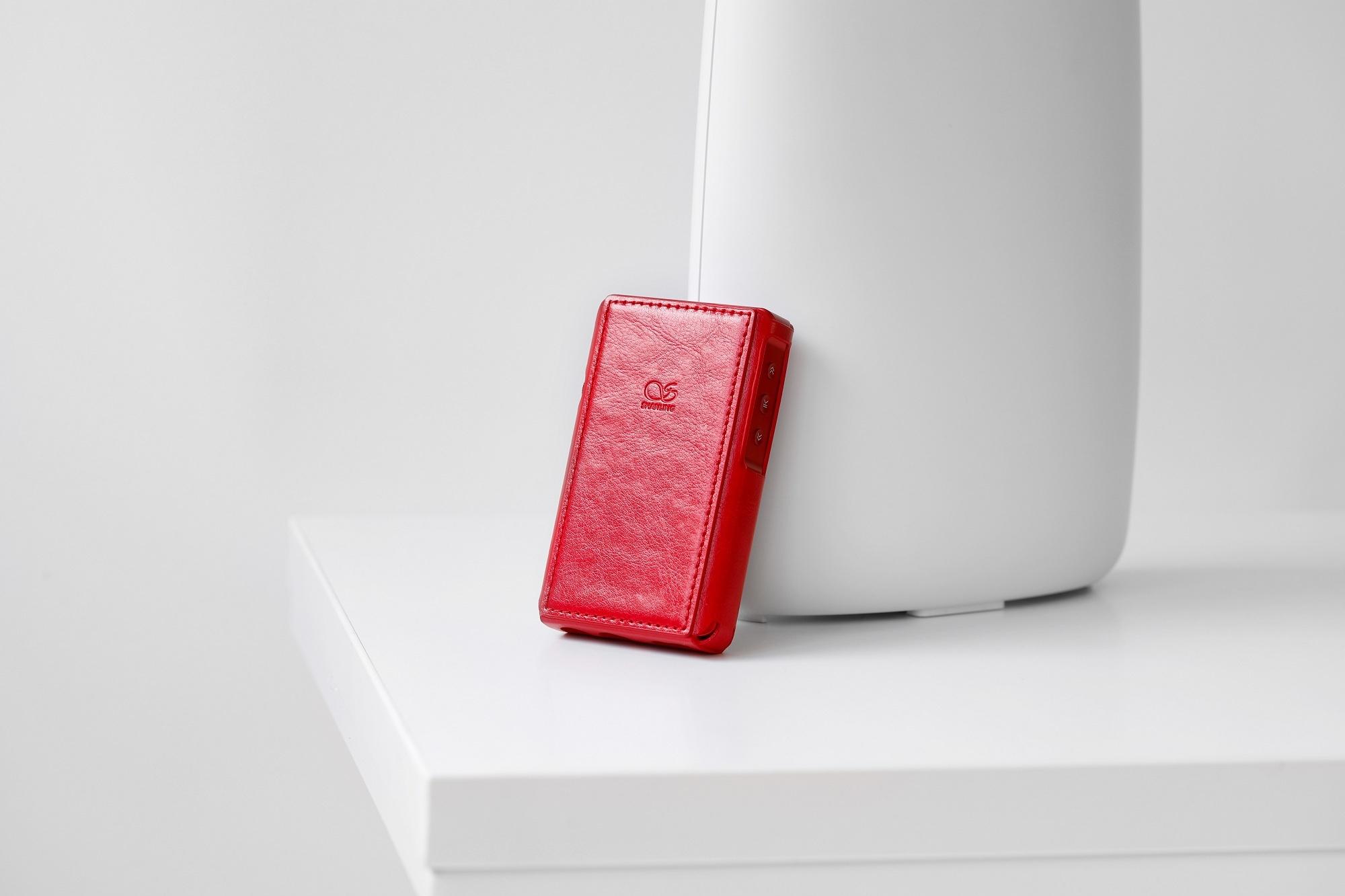 Чехол для плеера Shanling M2x. Цвет: красный.