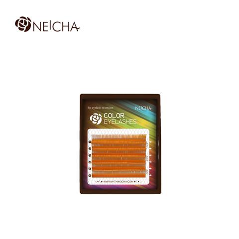 Цветные ресницы NEICHA блонд MIX 6 линий