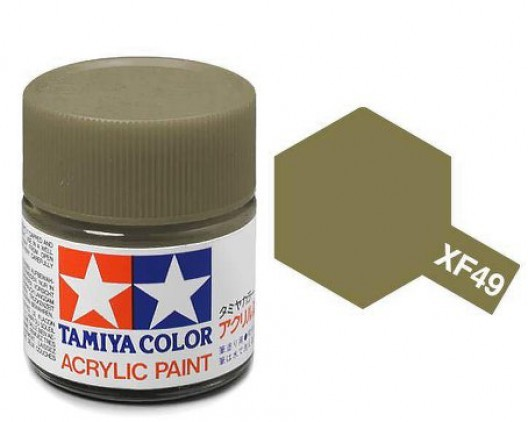 Tamiya Акрил XF-49 Краска Tamiya, Хаки Матовый (Khaki), акрил 10мл import_files_02_02759ccf5aac11e4bc9550465d8a474f_e3fbec4e5b5511e4b26b002643f9dbb0.jpg