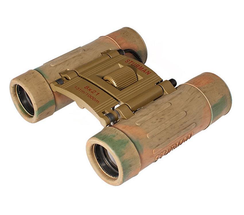 Бинокль Sturman 8x21 камуфляж - фото