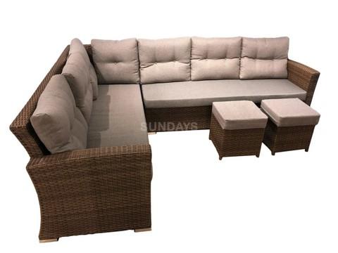 Комплект садовой мебели Sundays Aruba AR-214532 Sofa (без стола)