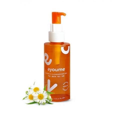 Ayoume Масло-пенка для снятия макияжа Bubble Cleanser Mix Oil, 150 мл