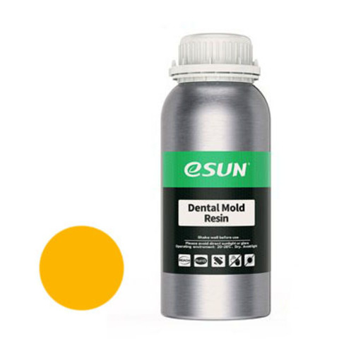 Фотополимер ESUN Dental Mold желтый (1 л)