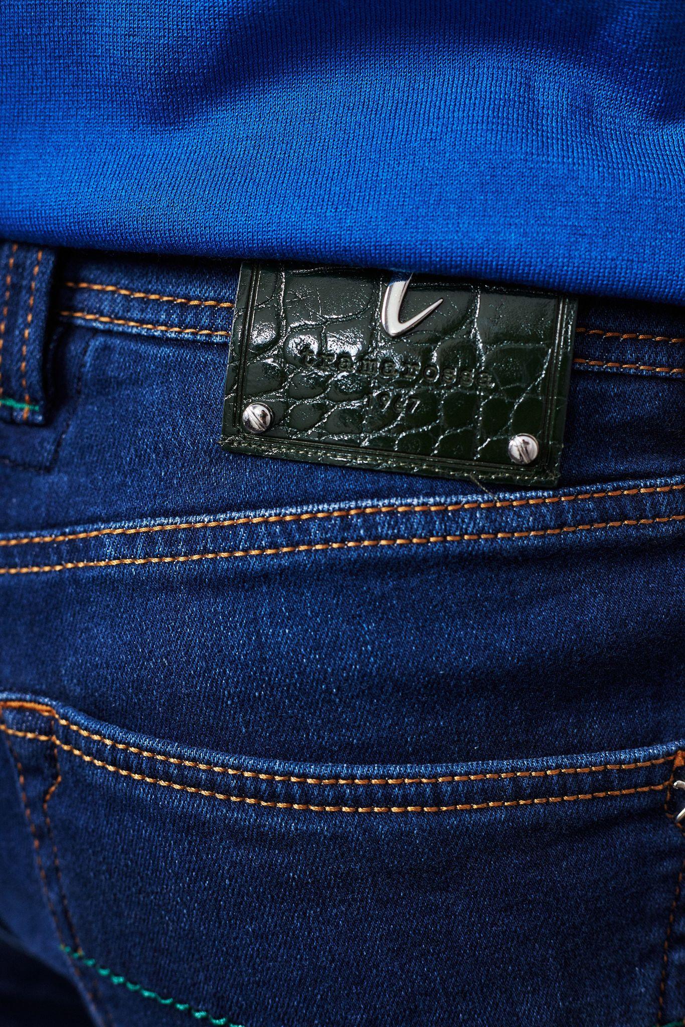 TRAMAROSSA Джинсы с декоративной отстрочкой на карманах