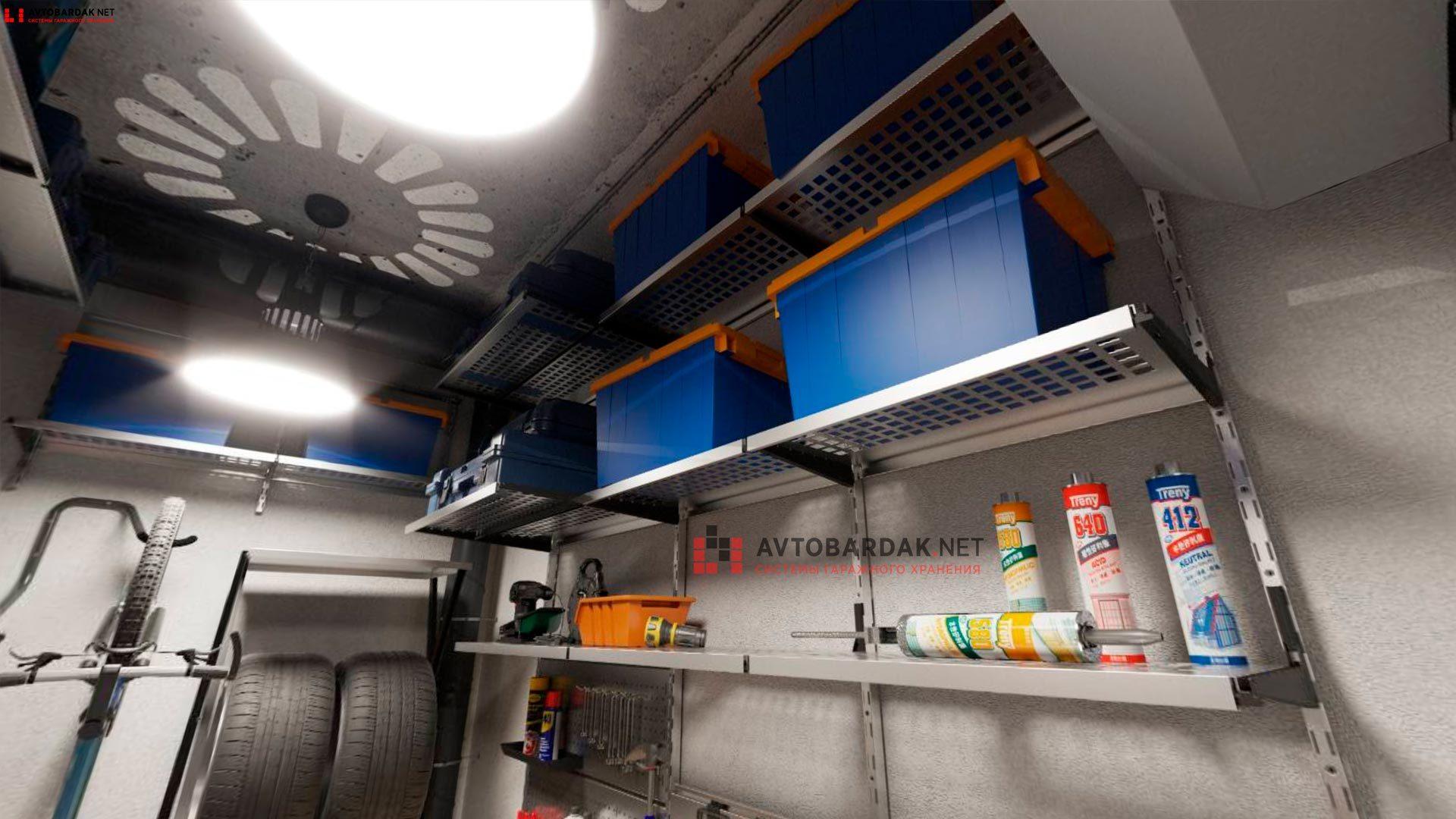 VR проект №2: кладовка 4,7 кв.м (2,6 х 1,8 м)