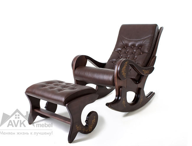 Premium класса Кресло-качалка Грация с банкеткой 211.jpg