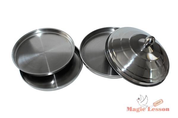 Волшебный мангал для фокусов с двумя отсеками