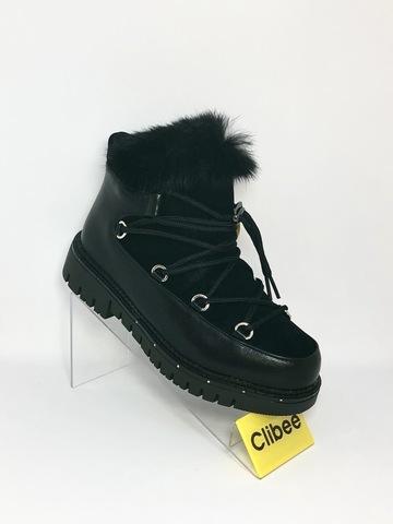Clibee (зима) K914 Black 32-37