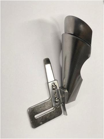 Окантователь в 4 сложения для изготовления шлевок и поясов А 5 (вход 70 мм - выход 24 мм) | Soliy.com.ua