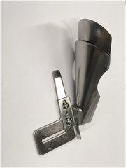 Фото: Окантователь в 4 сложения для изготовления шлевок и поясов А 5 (вход 70 мм - выход 24 мм)
