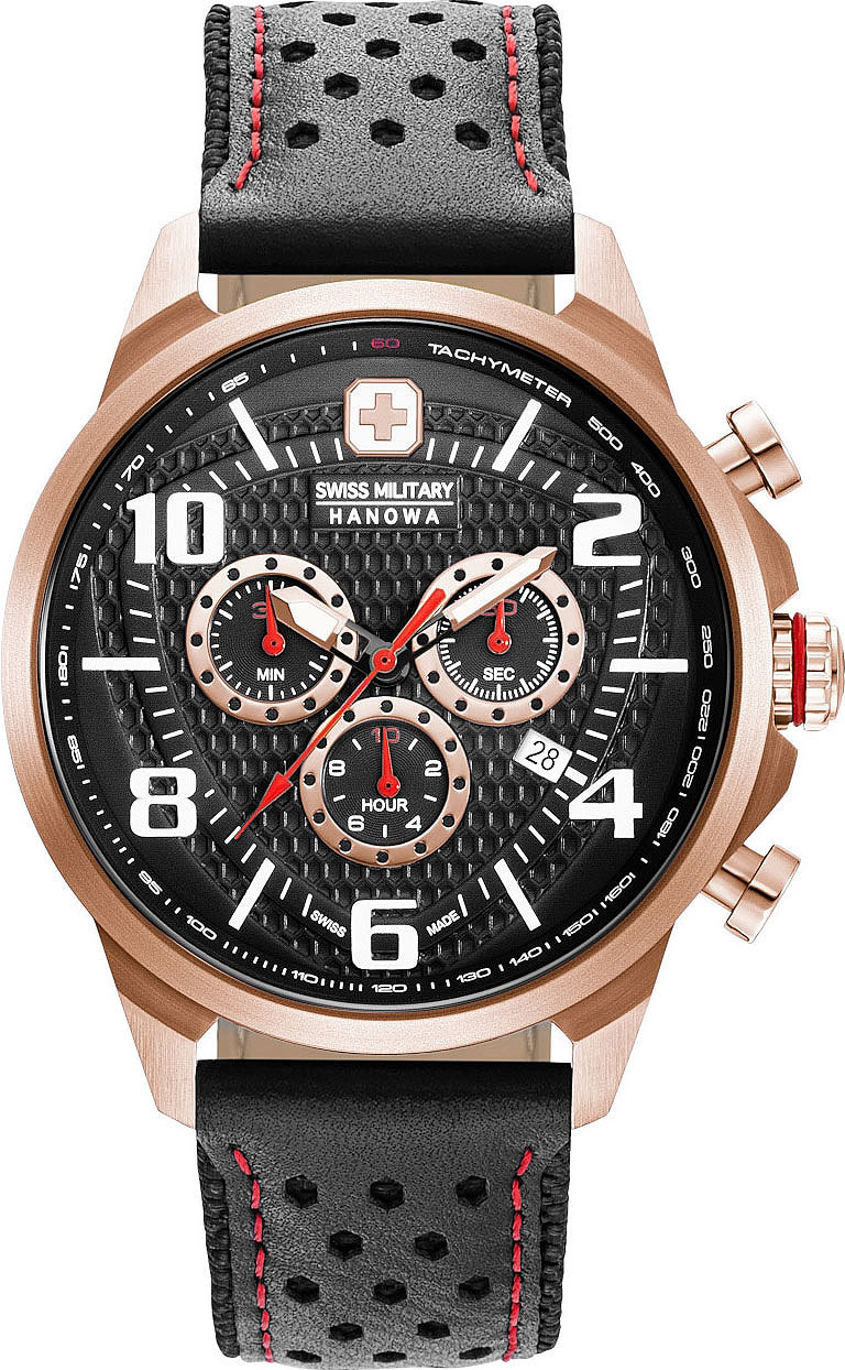 Часы мужские Swiss Military Hanowa 06-4328.09.007 Airman Chrono