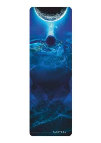 Коврик для йоги Water Elements Collection 183*60*0,3 см из микрофибры и каучука