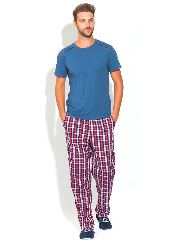 Пижамы мужские. костюмы и брюки Домашний костюм  пижама BOSS №21 PECHE MONNAIE BOSS__21.2.jpg