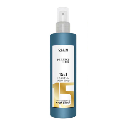 Оллин 15 в 1 несмываемый крем спрей, PERFECT HAIR  250 мл