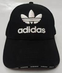 Молодежная кепка бейсболка черная Adidas BC-1133WB