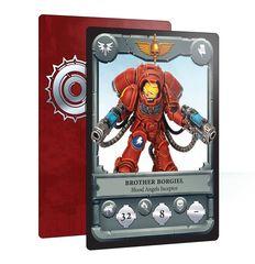 ВАРХАММЕР 40000 Боевые карты: Космодесантники против Хаоса (CITADEL COMBAT CARDS: S/MARINES + CHAOS