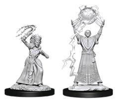 D&D Nolzur's Marvelous Miniatures - Drow Mage & Drow Priestess