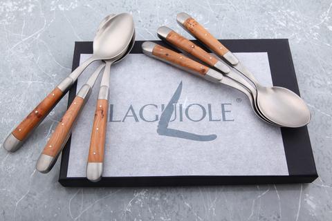 Набор из 6 столовых ложек, Forge de Laguiole C6 2M IN GE