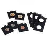 Холдер самокл. черный для монет D до 30 mm 50х50