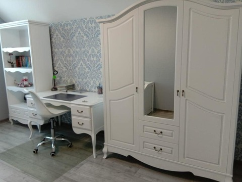 Шкаф Авиньон 3х.-створчатый с зеркалом и ящиками