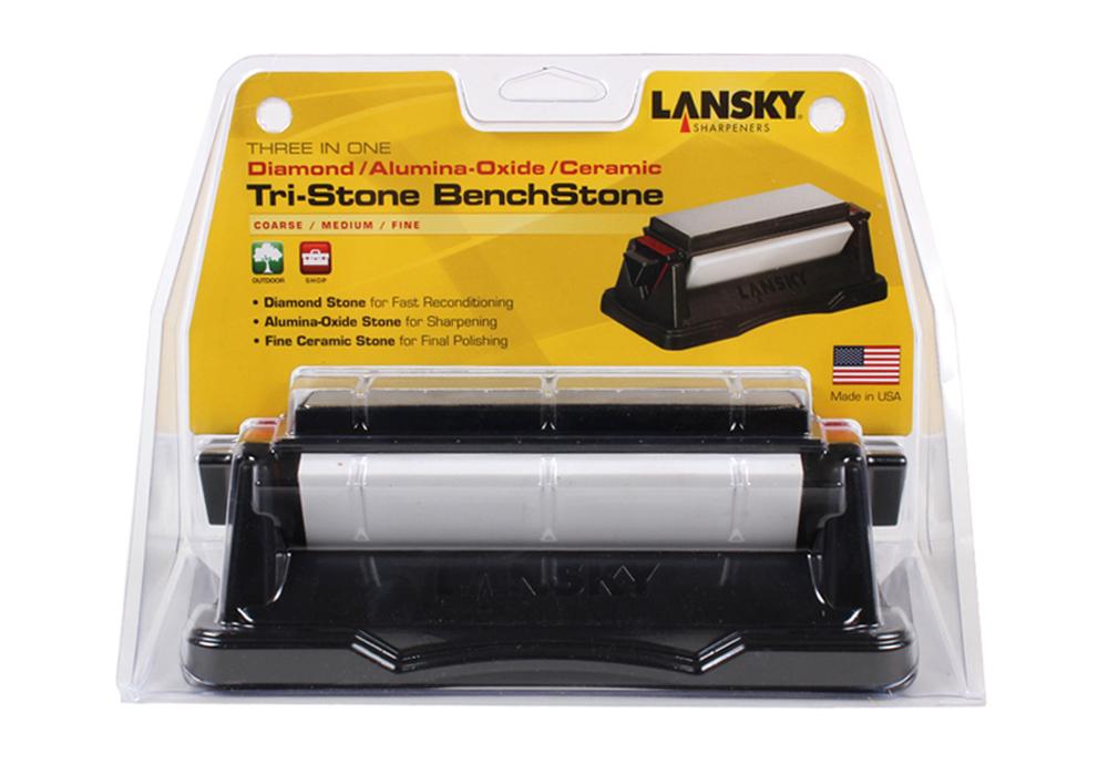LANSKY BS-TR100 трехсторонний камень - фотография