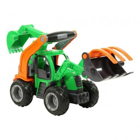 Трактор-погрузчик с ковшом