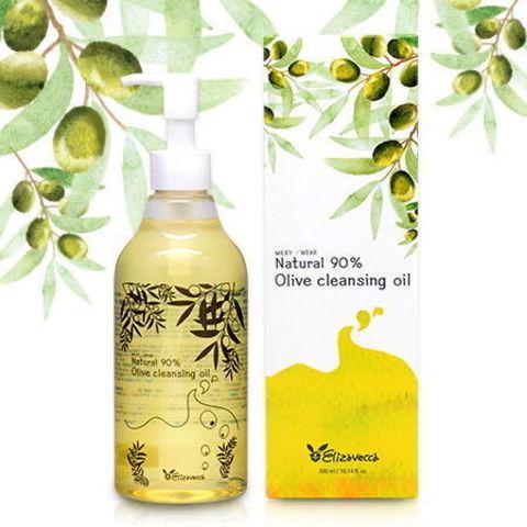 Гидрофильное масло ОЛИВА Natural 90% Olive Cleansing Oil, 300 мл Elizavecca