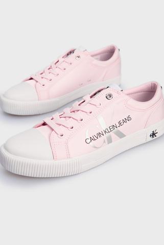 Женские розовые кеды VULCANIZED SNEAKER LACEUP PES Calvin Klein