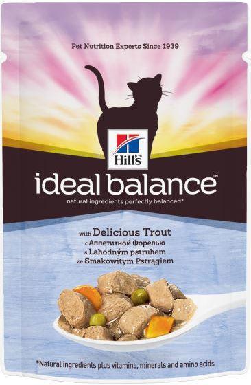 Hill's Пауч для кошек Hill's Ideal Balance Feline Adult, с форелью пауч_идеал_фор.jpg